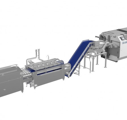 AUTOMATION INCREASES FOOD SAFETY IN LABOR-SAVING LINES